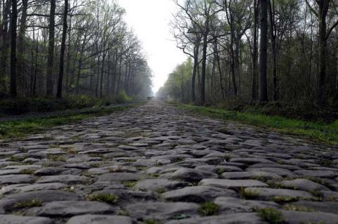 Pavé en la París-Roubaix